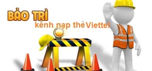 Bảo trì thẻ nạp Viettel