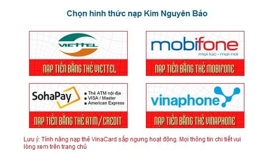 Bảo trì thẻ nạp MobiFone